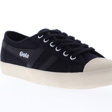 Gola Coaster Black Black Off White Mens Low Top Sneakers