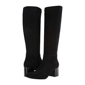 Aquatalia Calynn (Black Dress Suede/Cashmere) Women's Shoes