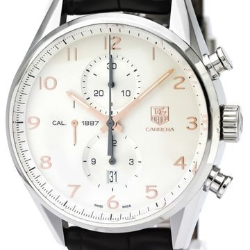 Tag Heuer Carrera Silver Steel Watches