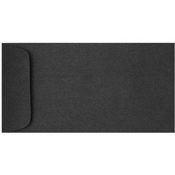 6 x 11 1/2 Open End Envelopes - Midnight Black (500 Qty.)