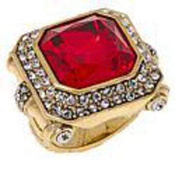 "Heidi Daus ""Simply Sensational"" Crystal Ring - Size 7"