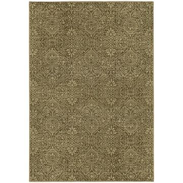 Style Haven Persian Gardens Green/Beige Indoor/Outdoor Area Rug (3'10 x 5'5) - 3'10