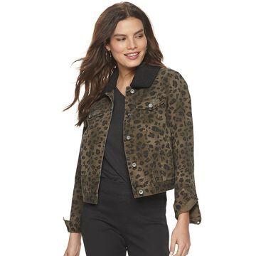 Women's Rock & Republic Removable Sherpa Collar Jacket