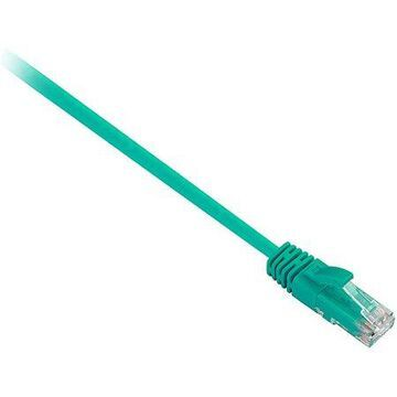 V7 7' CAT5e Snagless Network Patch Cable, Green