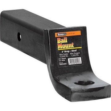 Buyers Products 1803405 Black Towing Ball Mount