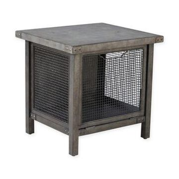 INK+IVY Cody End Table in Grey