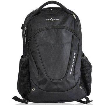 Obersee Oslo Diaper Backpack, Black