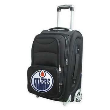 NHL Edmonton Oilers 21-Inch Carry On Spinner