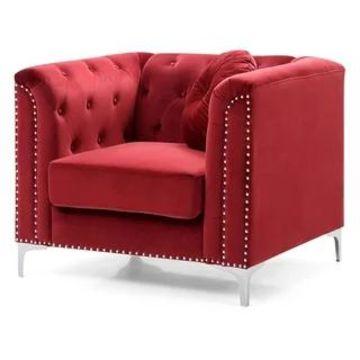 Pompano Velvet Chair