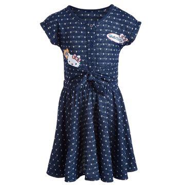 Little Girls Polka-Dot Patch Dress, Created for Macy's