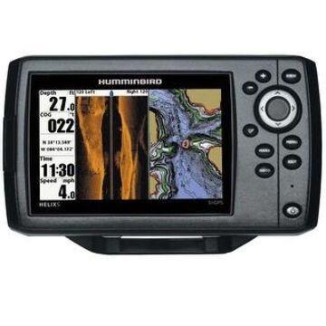 Humminbird 410230-1 Helix 5 SI/GPS Combo w/ 5 Inch Color TFT Display (Black)