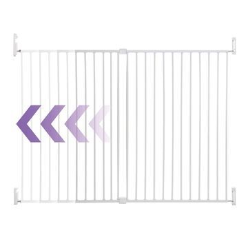 Dreambaby& Broadway Wide and Tall Expandable Gate in White