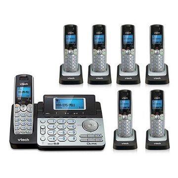 Vtech DS6151 Base + DS6101-6 Cordless Phone Bundle