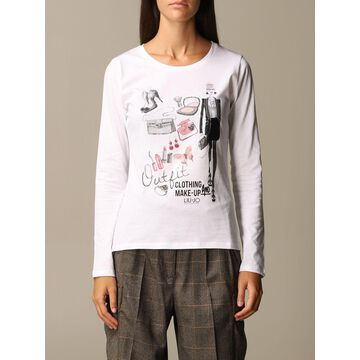 Liu Jo T-shirt With Style Print And Writing
