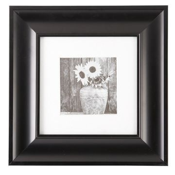 Black Matted Gallery Frame by Studio Decor