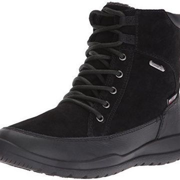 Kamik Women's Shawna Snow Boot, Black, 7 M US