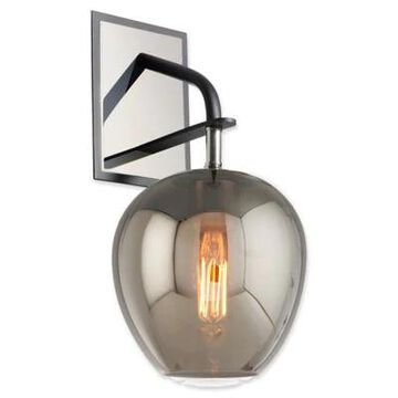 Troy Lighting Odyssey 1-Light Wall Sconce in Carbide Black