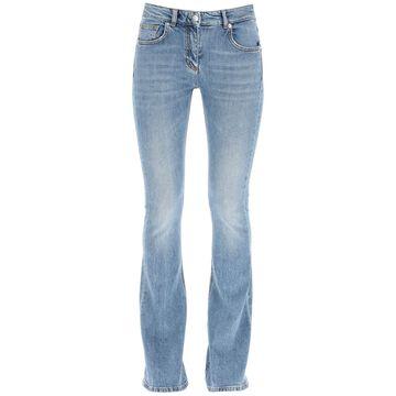Blumarine flare high waisted jeans