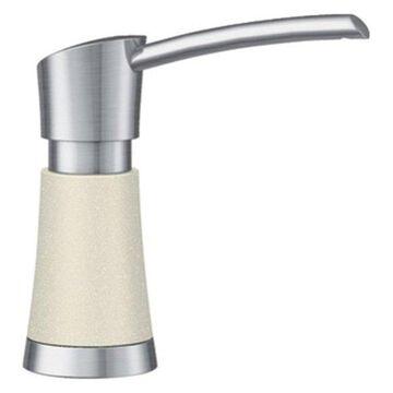 Blanco Artona Soap Dispenser, Biscuit/Stainless