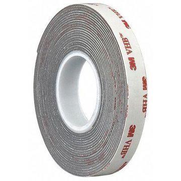 3M 4941 3M 4941 VHB Tape 3.25'' x 36yd, Gray, 45 mil