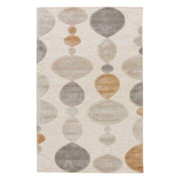 Jaipur Living Creekstone Handmade Geometric Gray/White Area Rug, 8'x10'