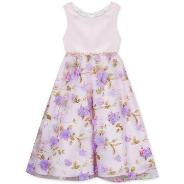 Toddler Girls Floral-Print Dress