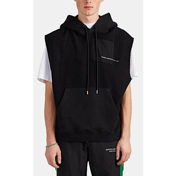 Marcelo Burlon County of Milan Muhammad Ali Reverse Cotton Terry Muscle Hoodie
