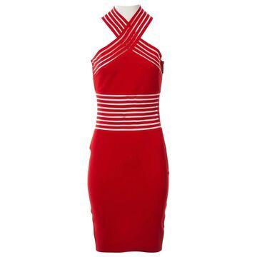 Christopher Kane Red Viscose Dresses