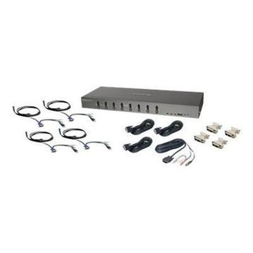 IOGEAR8-Port DVI KVMP Switch with VGA support and Cables(GCS1108KIT2)