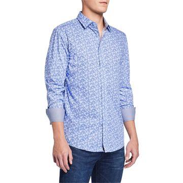 Men's Long-Sleeve Woven Shirt