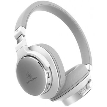 Audio-Technica ATH-SR5BT Wireless On-Ear High-Resolution Headphones (White)