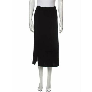 Wool Midi Length Skirt w/ Tags Wool