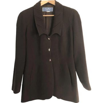 Thierry Mugler \N Brown Wool Jackets