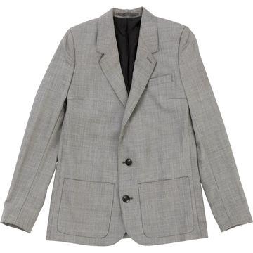 The Kooples Grey Wool Jackets