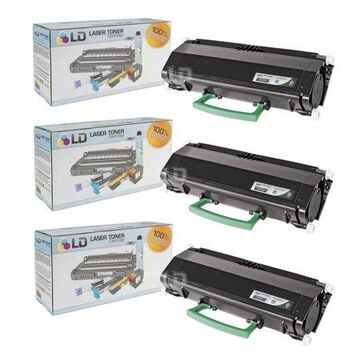 LD Products Remanufactured Toner Cartridge Replacement for Dell 330-2650 RR700 High Yie (Black, 3-Pack)