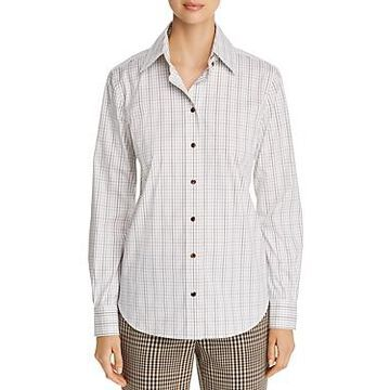 Lafayette 148 New York James Checked Shirt