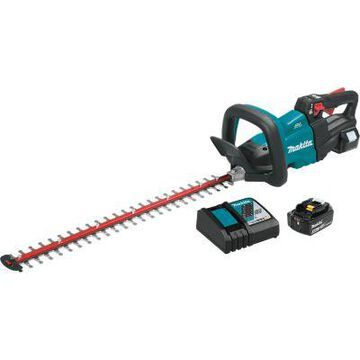 Makita 18V LXT Lithium-Ion Brushless Cordless 24 in. Hedge Trimmer Kit (5.0Ah), XHU07T