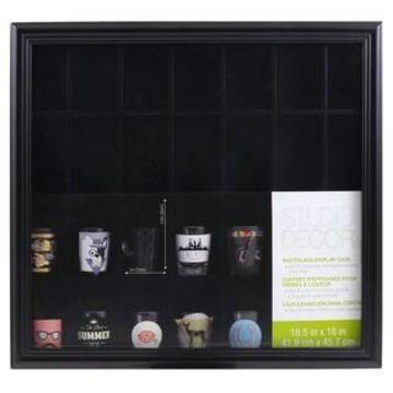 Shot Glass Display Case by Studio Decor