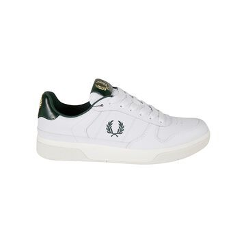 Fred Perry Logo Embroidered Sneakers