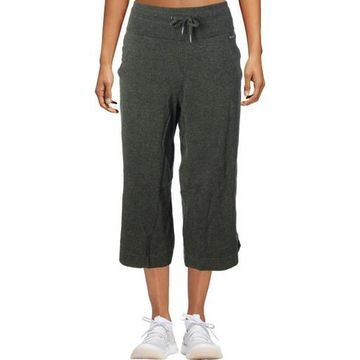 Calvin Klein Performance Womens Wide Leg High Waist Capri Pants