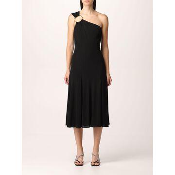 Versace one shoulder midi dress
