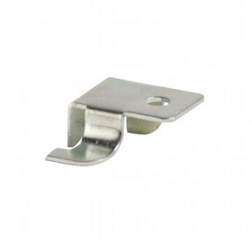 Econoco - GLKR - Deluxe Style Zinc Snap-in Right End Shelf Rest Bracket Accessory for Beacon Line or Imperial Line Brackets - Sold in Pack of 1000