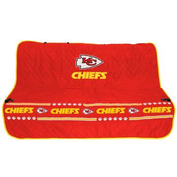 Pets First Kansas City Chiefs Car Seat Cover