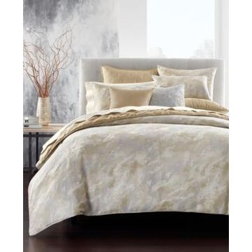 Hotel Collection Metallic Stone King Duvet Cover, Created for Macy's Bedding