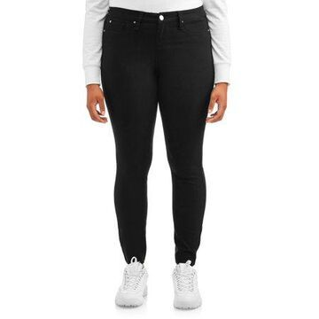 YMI Jeans Juniors' Plus Size Hyperstretch Mid-Rise Jean