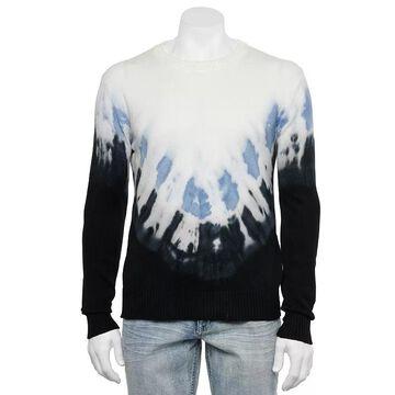 Men's Xray Regular-Fit Arrow Tie-Dye Crewneck Sweater, Size: Large, Oxford