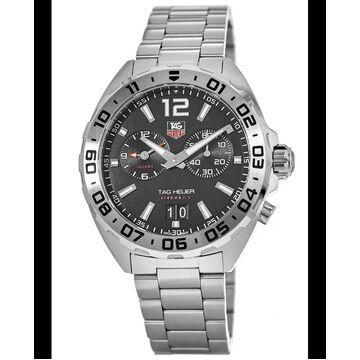 Tag Heuer Formula 1 Alarm 200 M Black Dial Steel Sports Men's Watch WAZ111A.BA0875 WAZ111A.BA0875