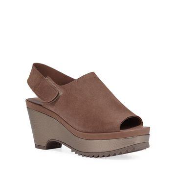 Felipa Suede Wedge Sandals