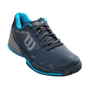 Wilson Men's Rush Pro 2.5 Tennis Shoe, Blueberry/Quiet Shade/Hawaiian Surf