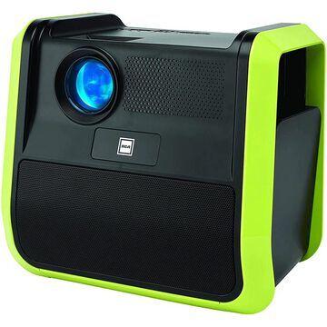 RCA Portable Indoor-Outdoor Projector with Speaker - Black (RPJ060-BLACK)